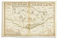 Locatione di Salzola,1686